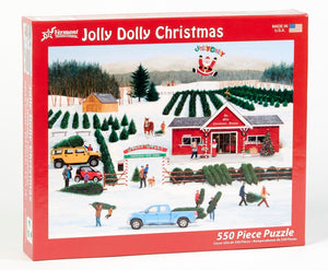 550 Jolly Dolly Christmas Puzzle