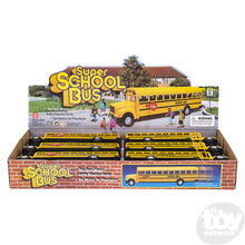 "Load image into Gallery viewer, 8.5"" Die Cast School Bus"