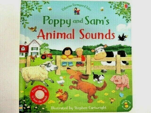 Animal Sounds Poppy and Sam's Board Book