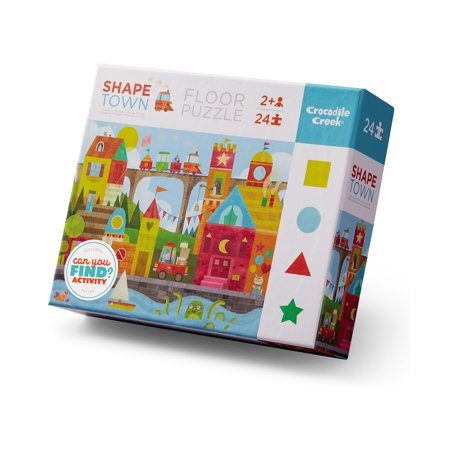 24 PC Shape Town Puzzle
