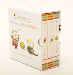Little Pea, Little Oink, Little Hoot Board Books boxed