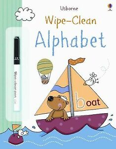 Alphabet Wipe-Clean
