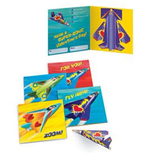 Airplanes Valentines Cards