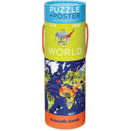 200 PC World Animals  Puzzle & Poster