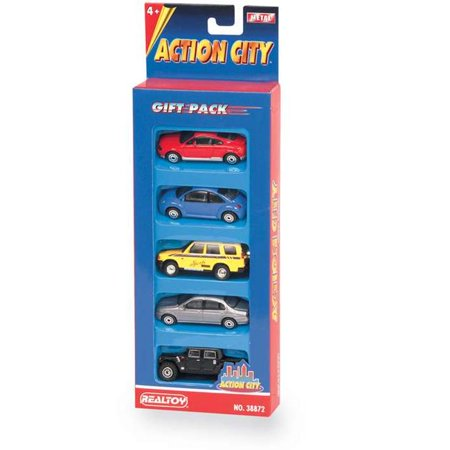 5 Piece Street Car Vehicle Gift Pack