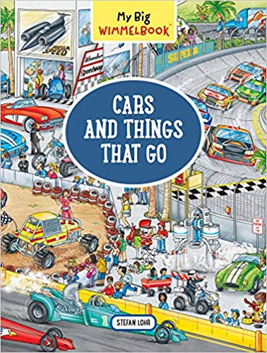Cars And Things That Go Wimmelbook