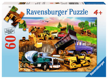 60 PC Construction Crowd Puzzle