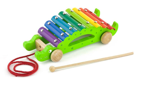 Crocodile Pull Along Xylophone