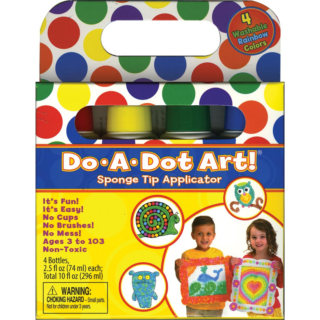 Do A Dot Art 4 Pack Rainbow Markers