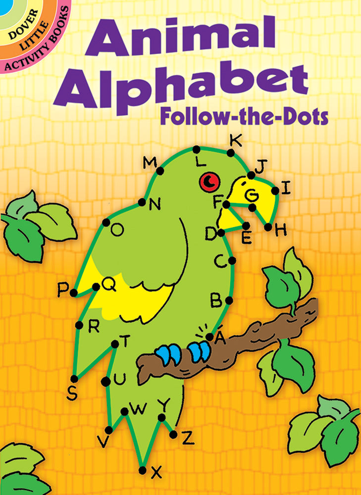 Animal Alphabet Follow-the-Dots