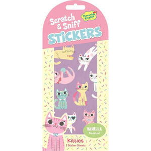 Kitties Scratch & Sniff Sticker Pack