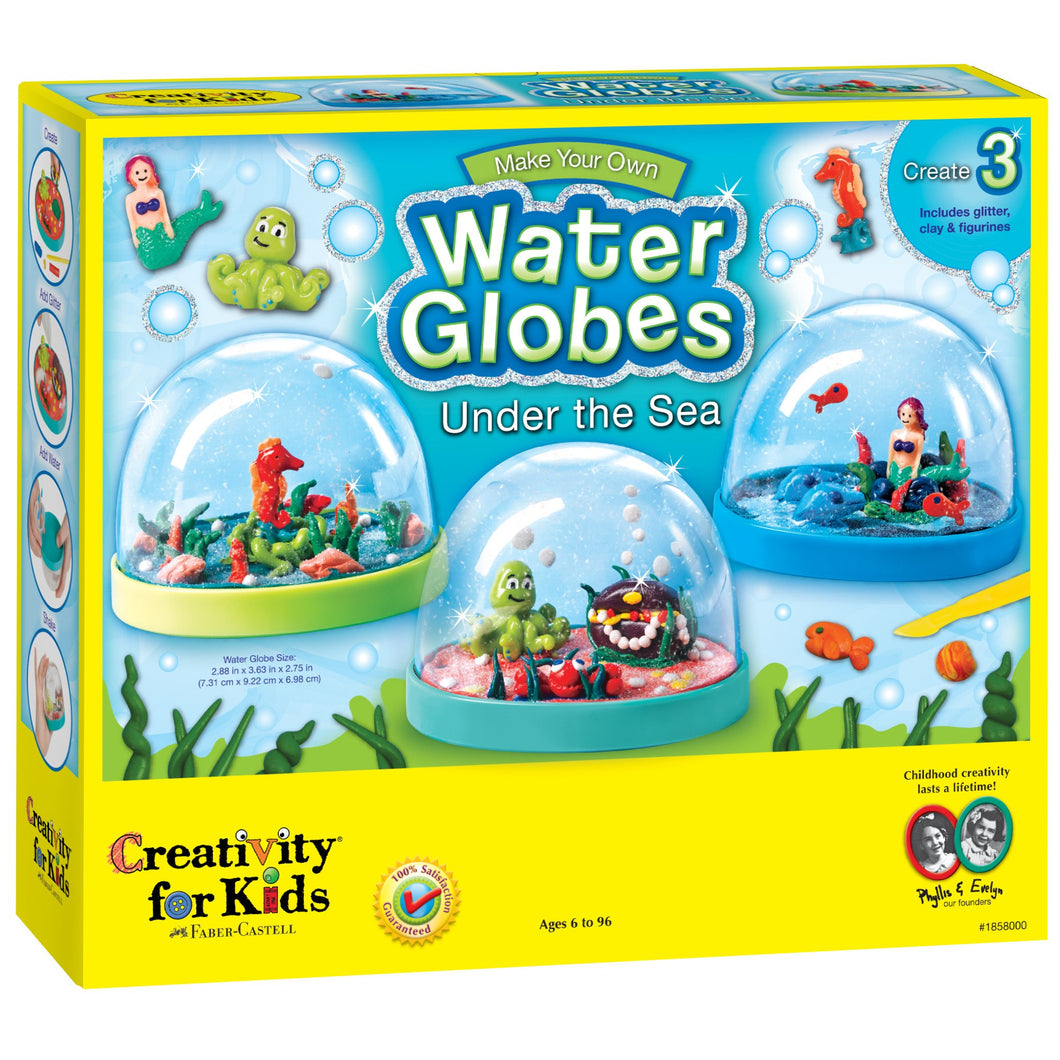 Make Your Own Water Globes - Under The Sea