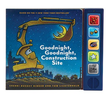 Goodnight Goodnight Construction Sound Board Book