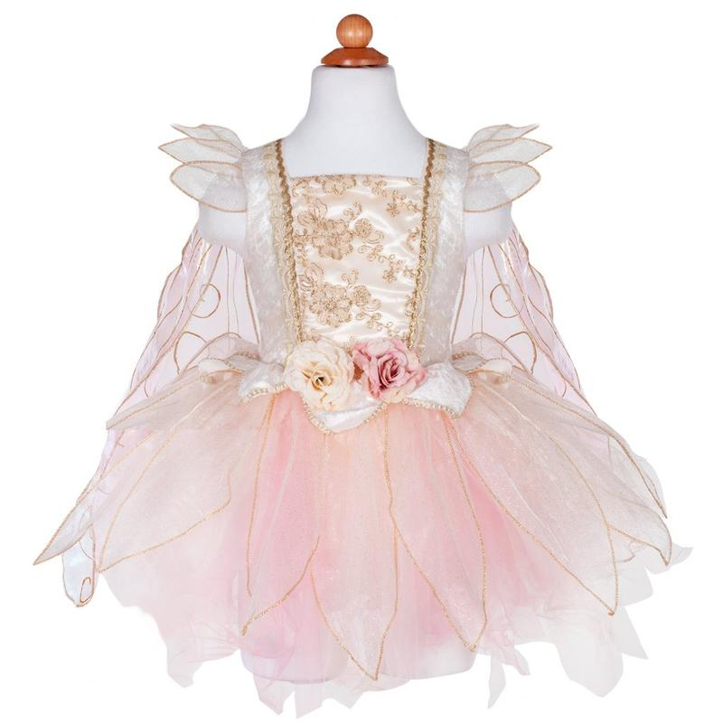 Fairy Gold Rose Dress - Size 5/6