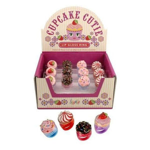 Cupcake Cutie Lip Gloss Ring
