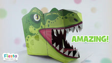 Load image into Gallery viewer, T-Rex 3D Mask Card Craft