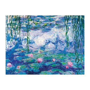 500 PC Monet Double Sided 2-in-1 Puzzle