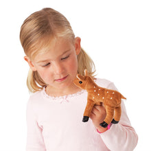 Load image into Gallery viewer, Mini Fawn Finger Puppet