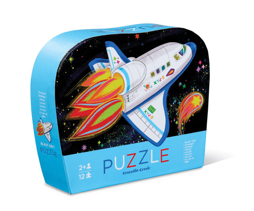 12 PC Blast Off Mini Puzzle