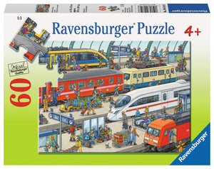 60 PC Railway Station Puzzle
