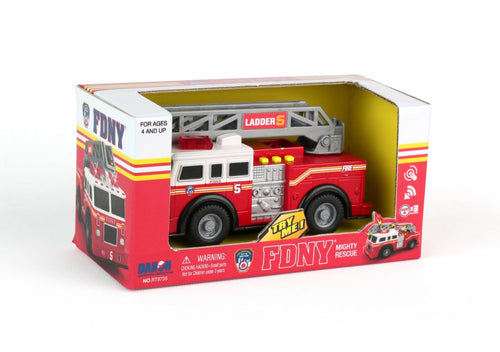 FDNY Mighty Fire Truck With Light & Sound