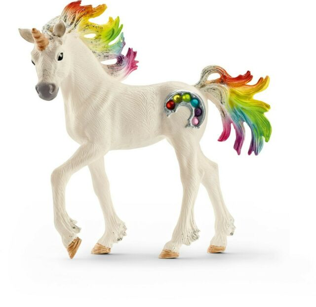 Unicorn Foal Rainbow