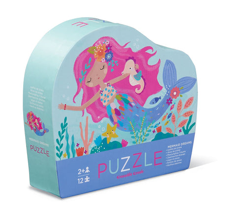 12 PC Mermaid Dreams Mini Puzzle