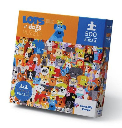500 PC Lots of Dogs Puzzle