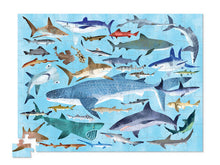 Load image into Gallery viewer, 100 PC Sharks 36 Puzzle In A Can