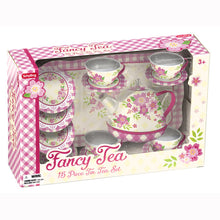 Load image into Gallery viewer, Fancy Tin Tea Set