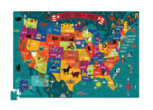 Load image into Gallery viewer, 200 PC USA Poster and Puzzle