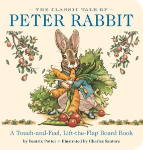 Classic Tale of Peter Rabbit Touch-and-Feel Board Book
