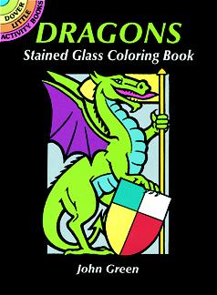 Dragons Stained Glass