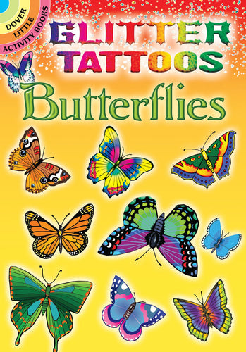 Glitter Butterflies Tattoos