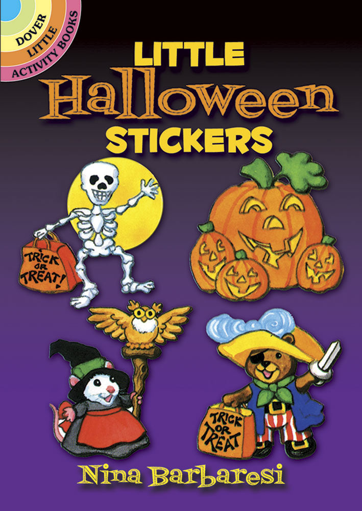 Little Halloween Stickers