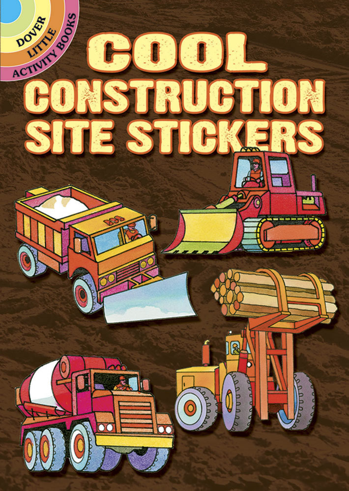 Cool Construction Site Sticker