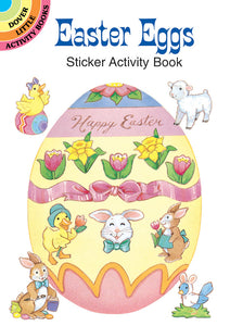 Easter Eggs Sticker Activity