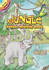 Jungle Sticker Activity