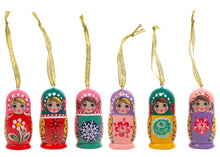 Load image into Gallery viewer, Matryoshka Mini Ornament