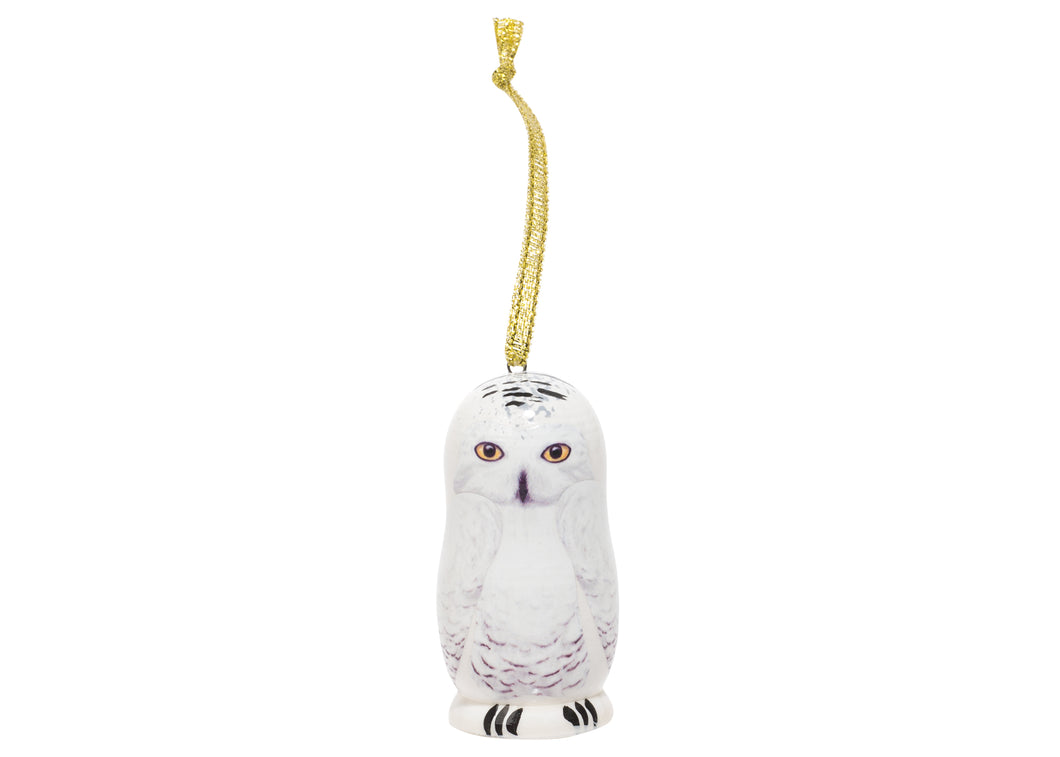 Snowy Owl Mini Ornament