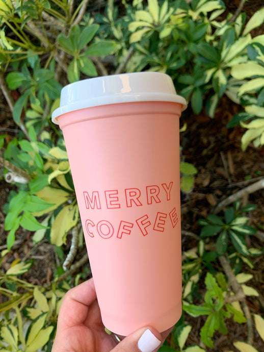 Pink - Merry Coffee