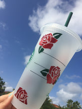 Roses - Personalized *Starbucks Cold Cups*