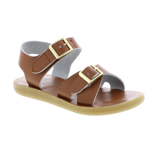 FOOTMATES TIDE TAN SANDALS