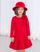 Load image into Gallery viewer, ABEL AND LULA RED KNIT DRESS (5-12Y)