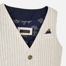 Load image into Gallery viewer, MAYORAL TAILORED LINEN VEST