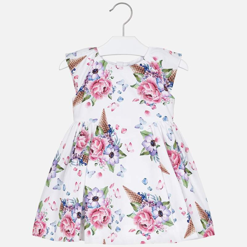 MAYORAL FLOWER ICE CREAM CONE DRESS