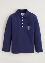 Load image into Gallery viewer, LITTLE ENGLISH LONG SLEEVE POLO