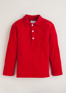 LITTLE ENGLISH LONG SLEEVE POLO
