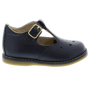 FOOTMATES HARPER NAVY SHOES
