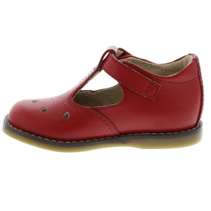 FOOTMATES HARPER APPLE RED SHOES